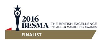 Shortlisted for Sales Trainer of the Year 2016