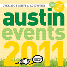 Austin Events 2011 Cover