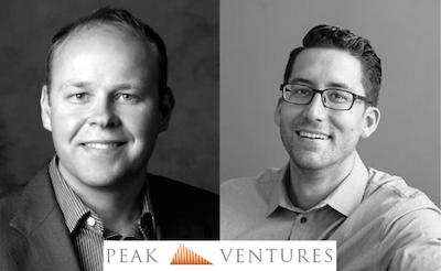 Jeff Burningham and Sid Krommenhoek Peak Ventures