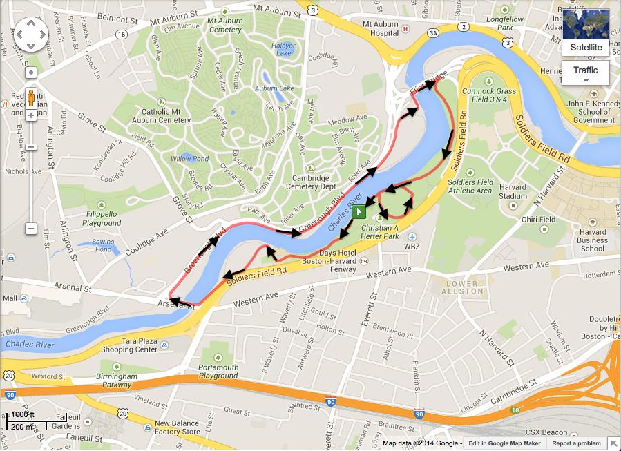 Miles Against Malaria 5K Course