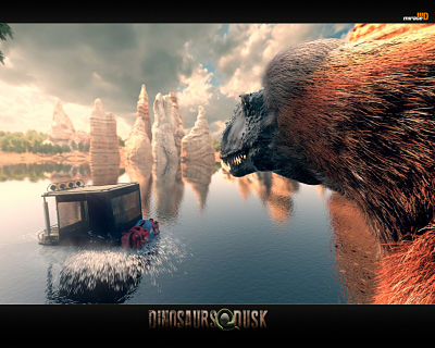 Dinosaurs At Dusk Screenshot 2
