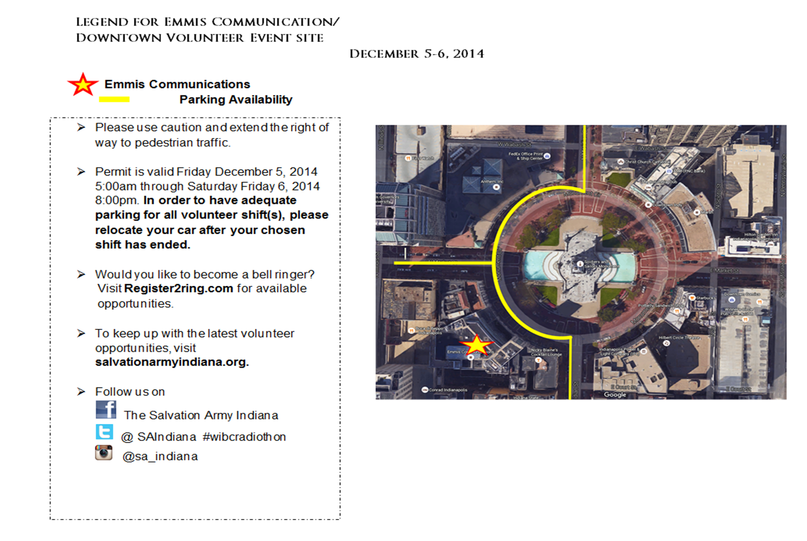 Radiothon parking information side 2