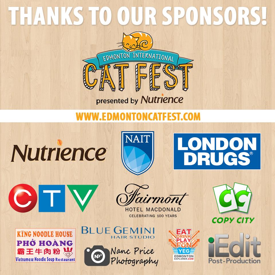 Cat Fest Sponsors