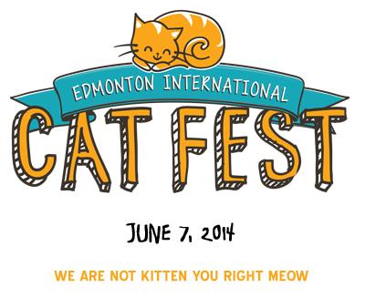Edmonton International Cat Festival Logo