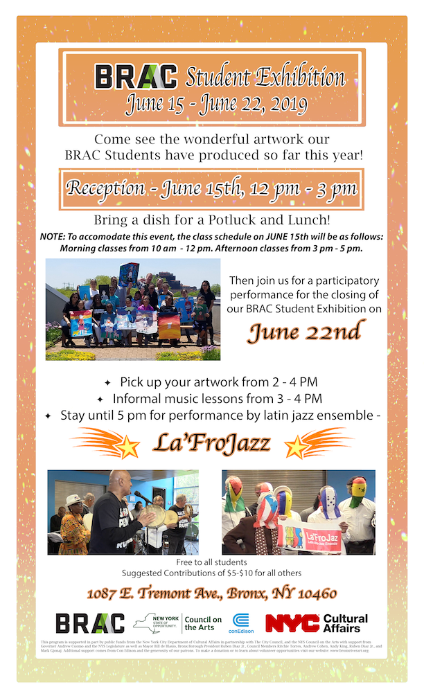 BRAC Student Exhibition Program Events