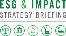 ESG & Impact Strategy Briefing - Wednesday 28 March 2018