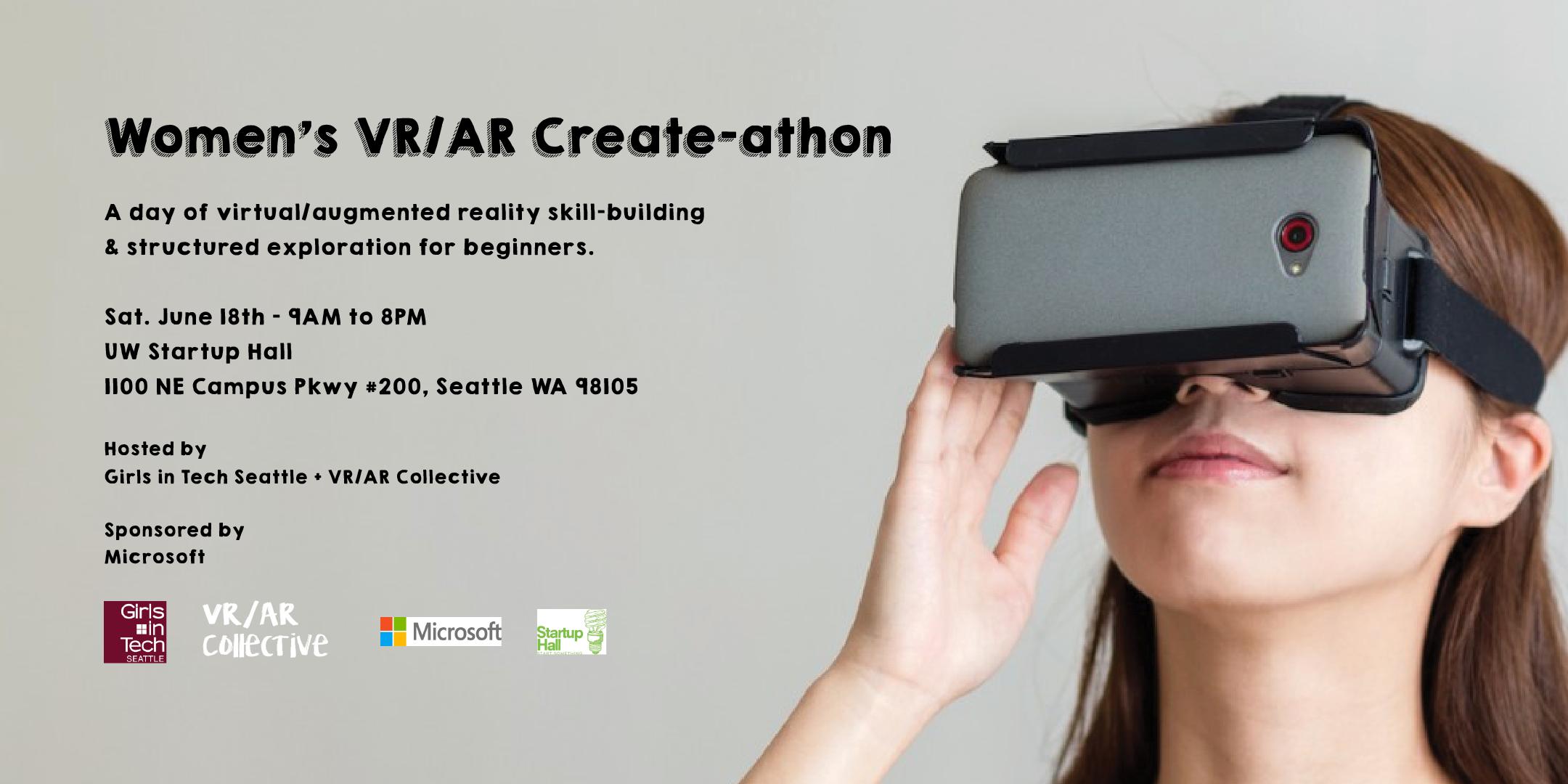 VR/AR Create-athon June 18th