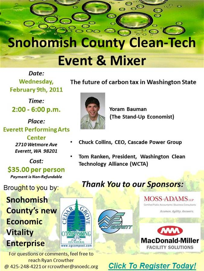 Clean Tech Flier