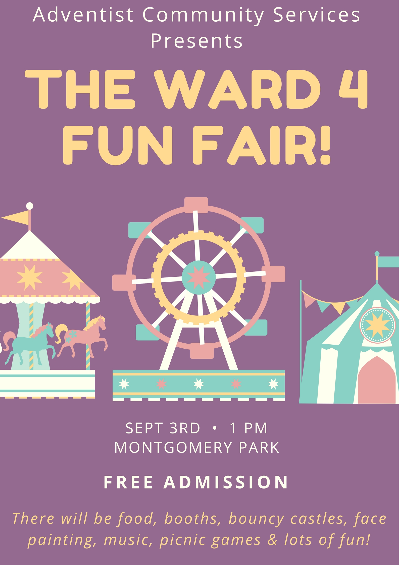 Ward 4 Fun Fair