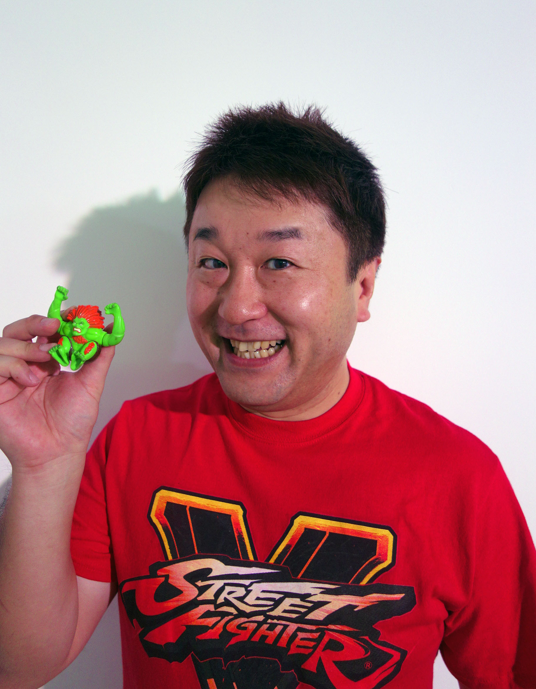 Street Fighter V Executive Producer Yoshinori Ono
