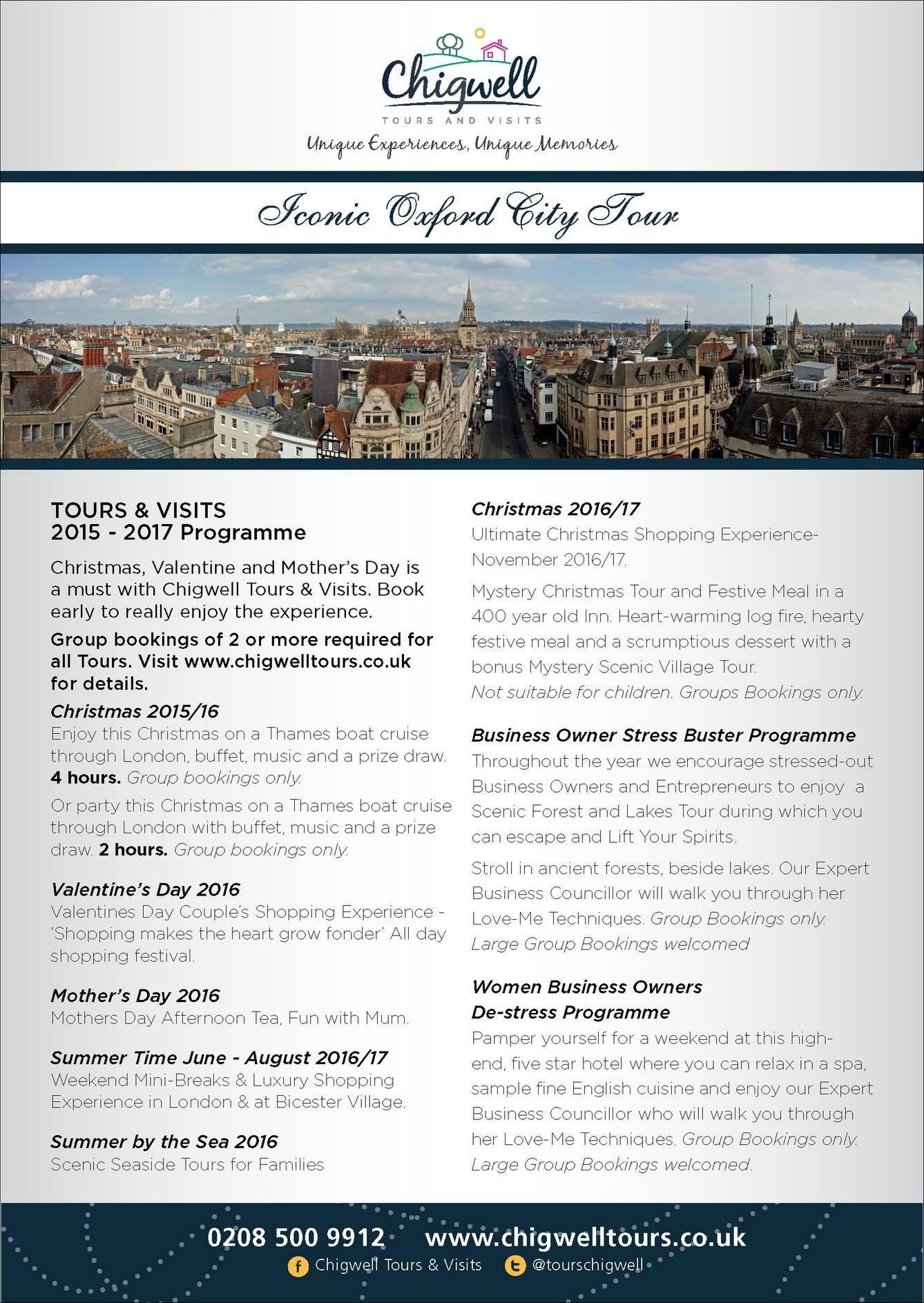 Bicester Village & Oxford Tour