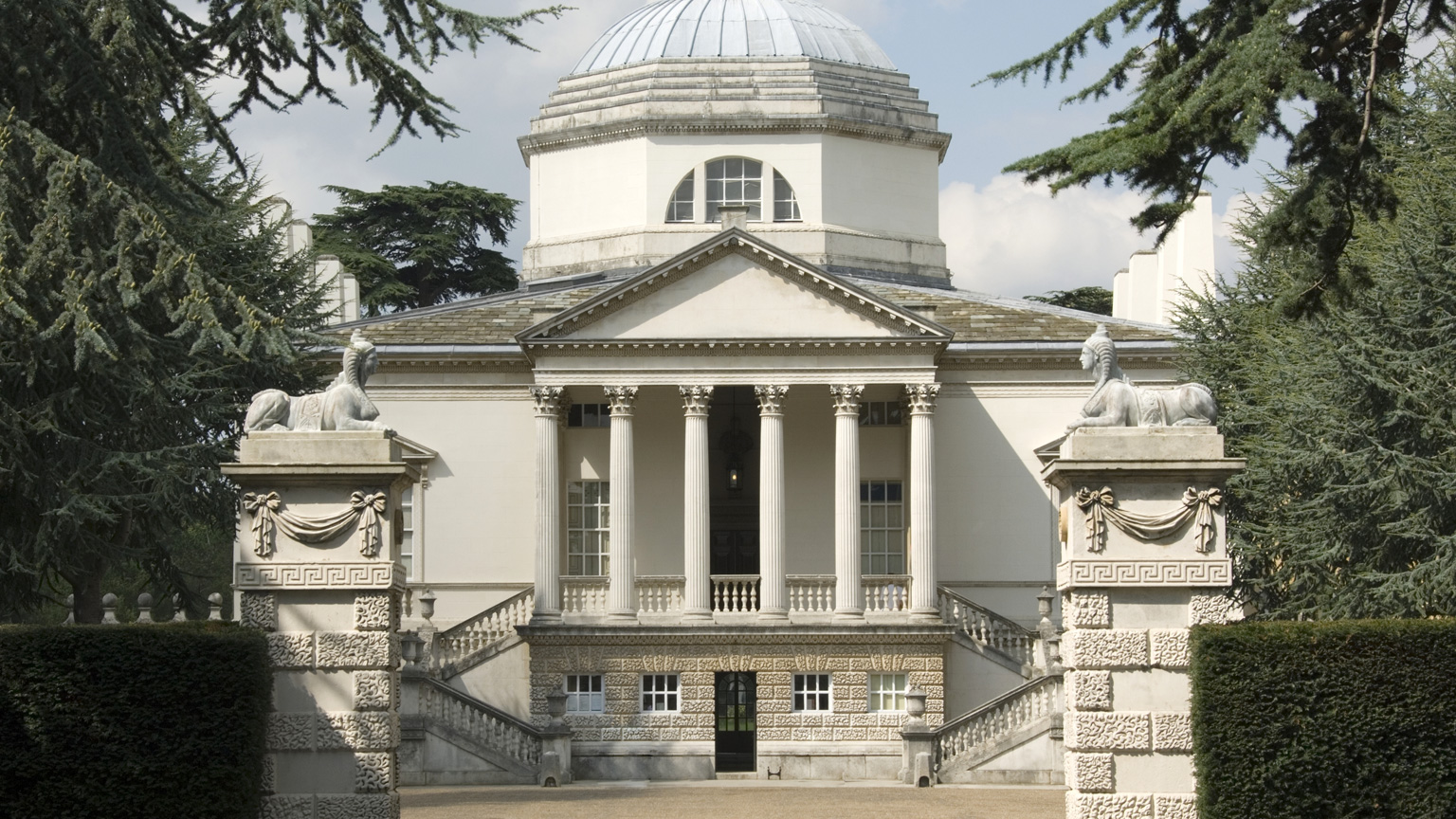 Art miles 2015 chiswick house and gardens tickets sun for Palladian style house plans