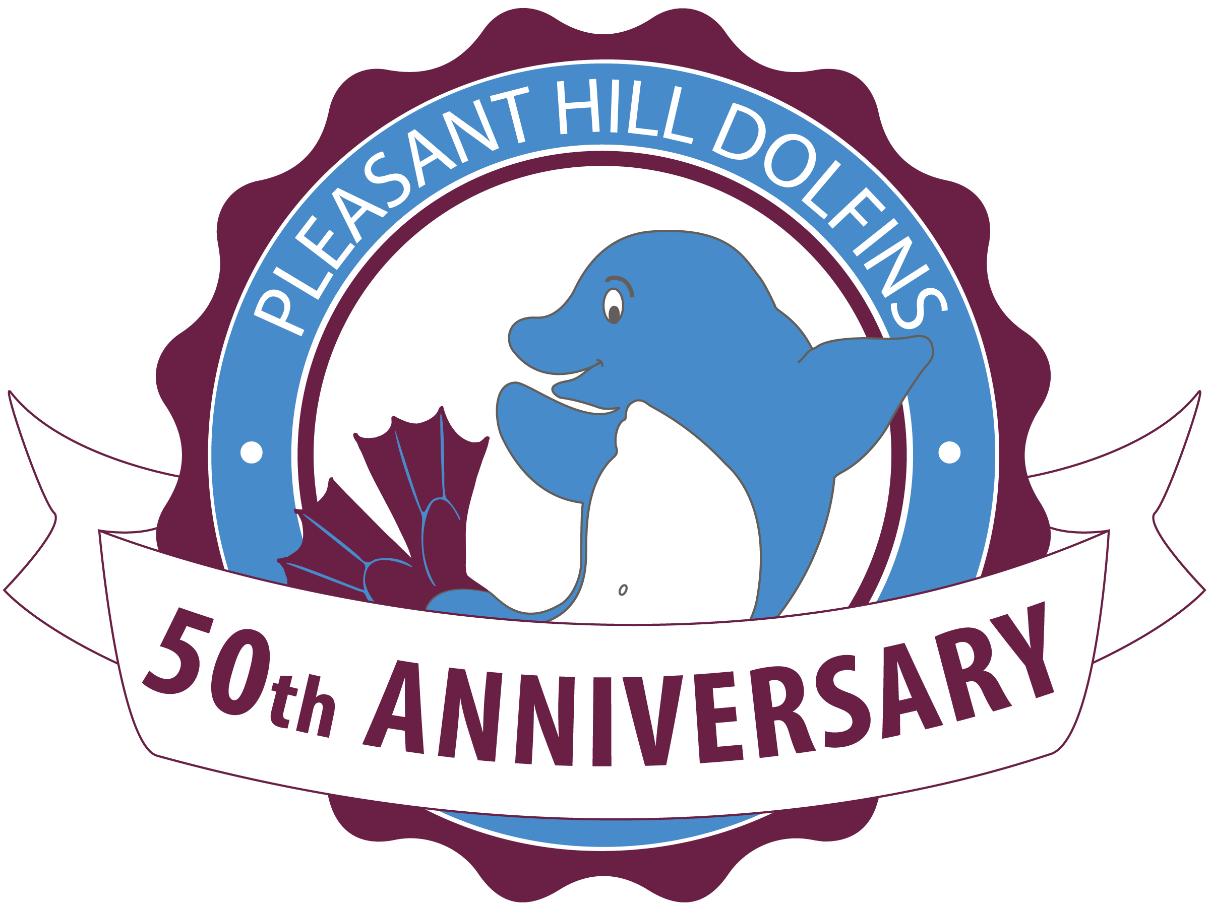 Dolfins 50th Logo