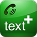 TEXT PLUS PLUS CALLING LOGO