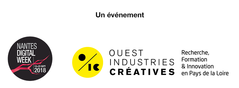 logos Nantes Digital Week et RFI OIC
