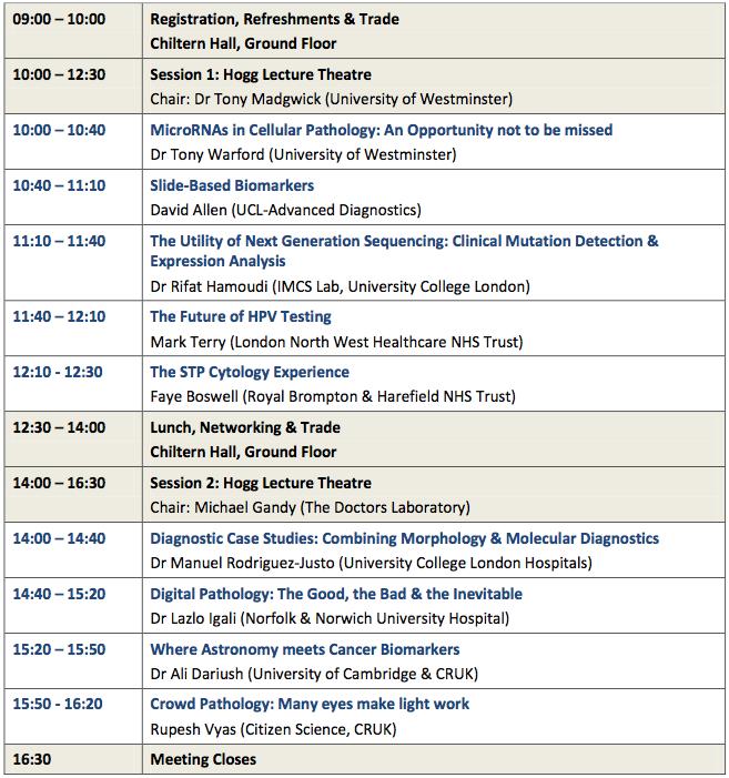 IWT2014 Full Programme