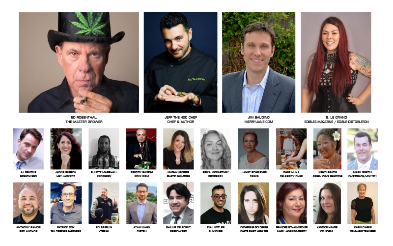 Infused Expo Guests and Keynote Speakers