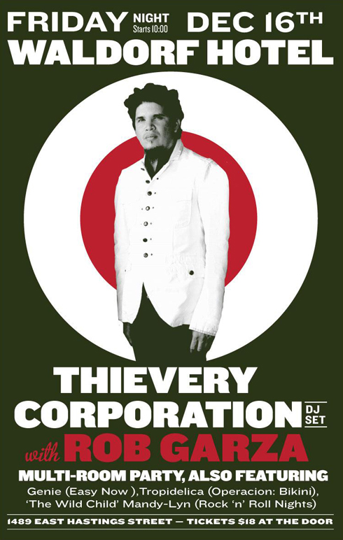 Thievery Corporation Toured With