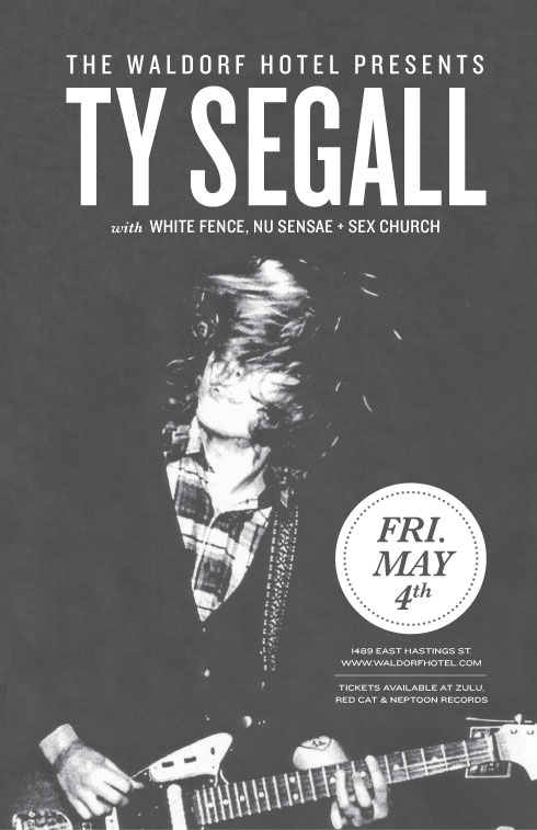 Ty Segall at The Waldorf