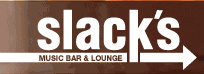 Logo for Slack's Music Bar and Lounge
