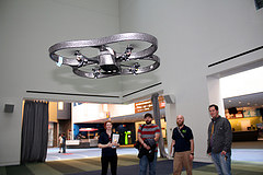 Fly drones inside COSi!