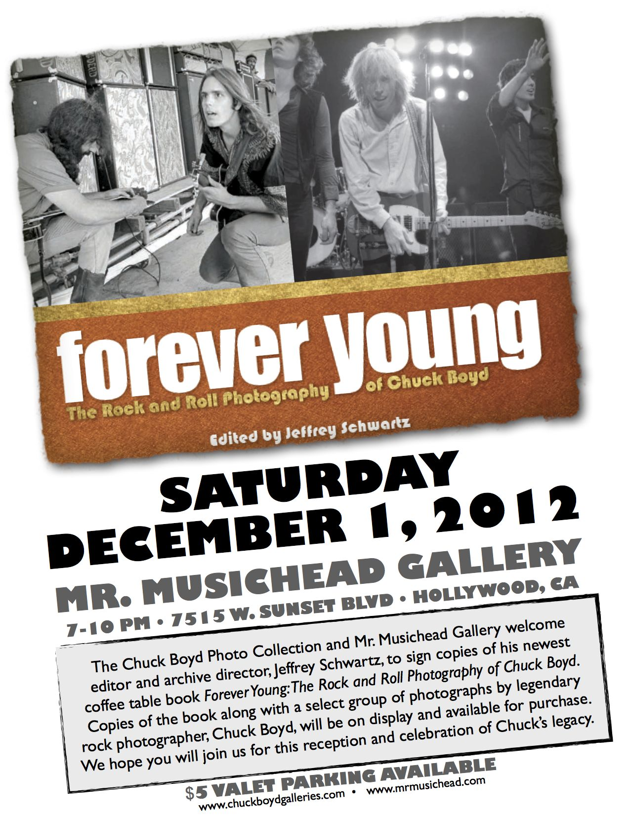 Forever Young Gallery Event