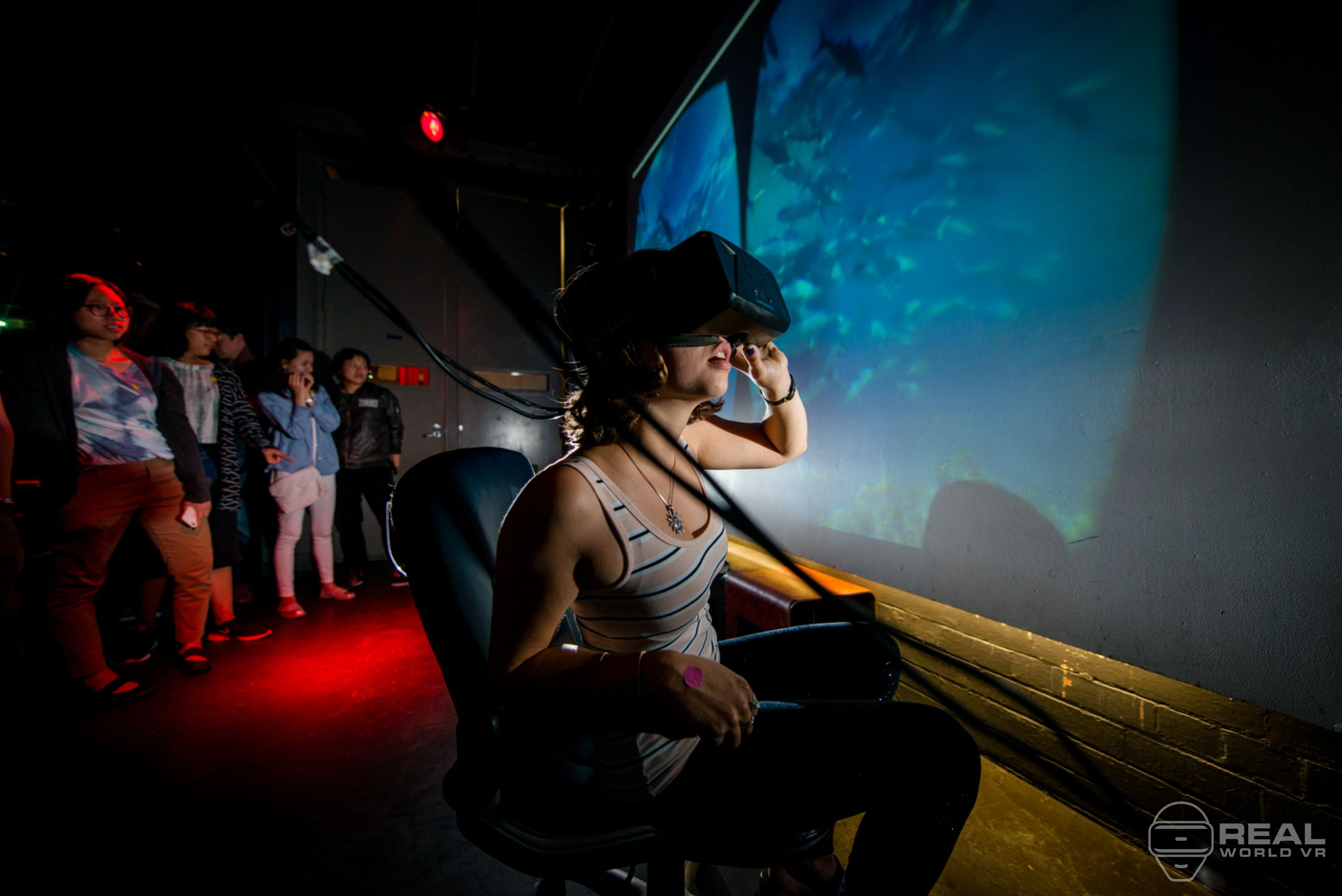 Real World Vr Oculus Rift event melbourne virtual reality