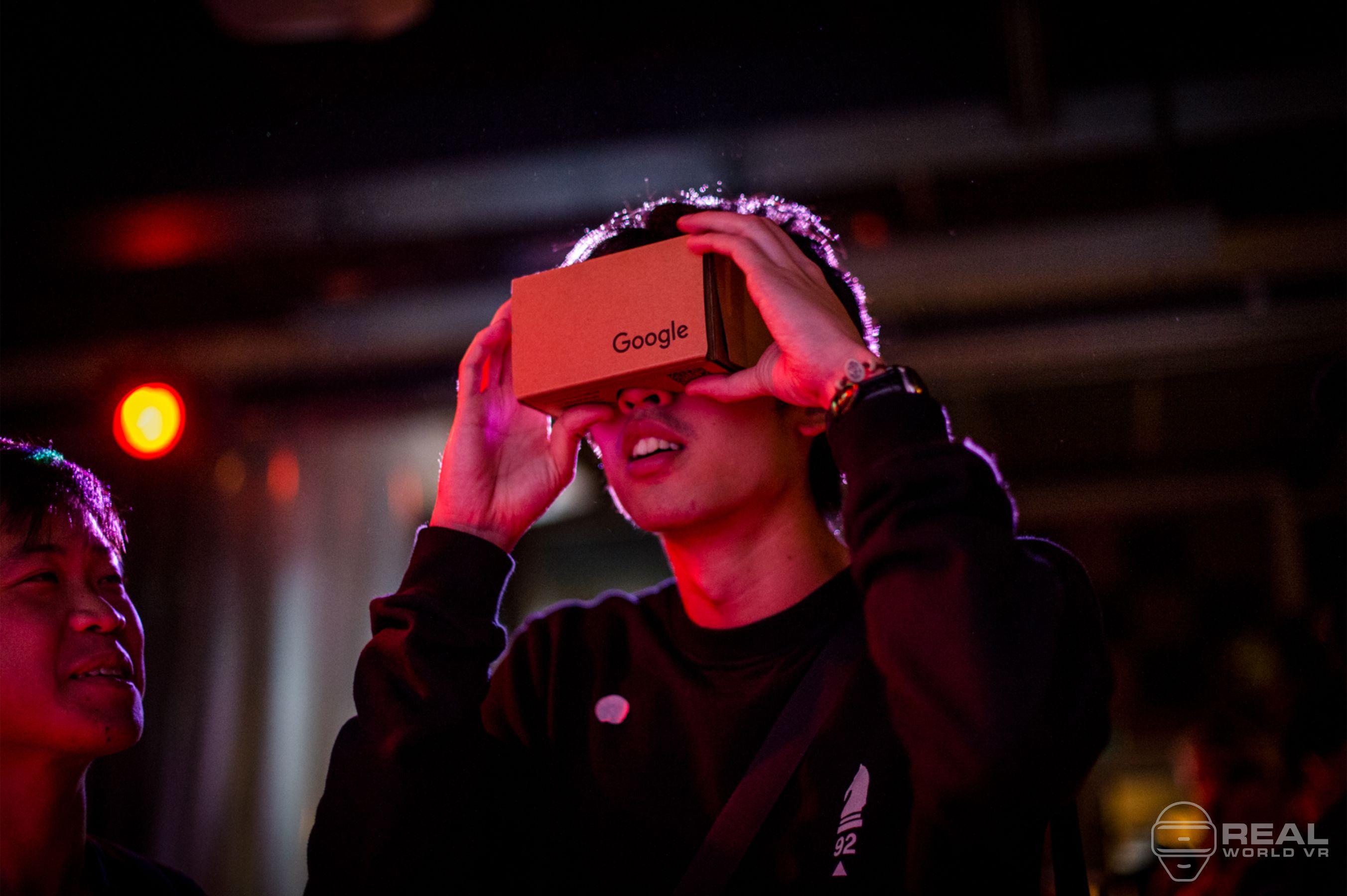 Real World VR Event Loop Google Cardboard VR Forum