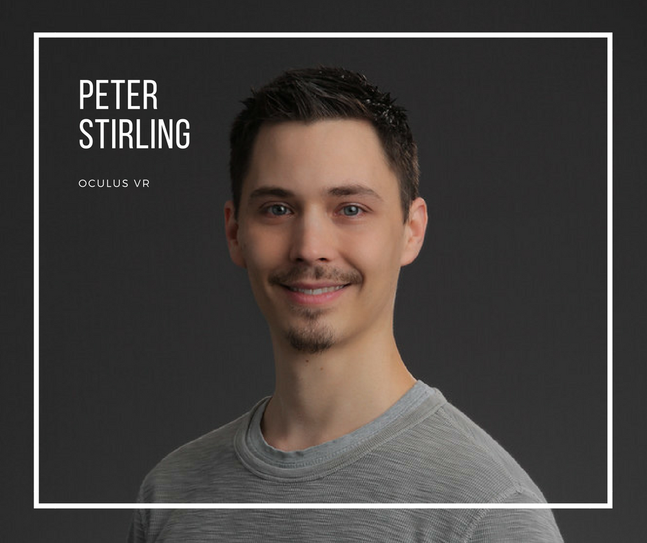 Peter Stirling Oculus VR