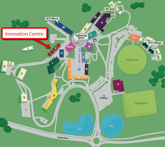 Coffs Harbour Campus Map