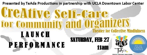 CreAtive Self Care launch 2016