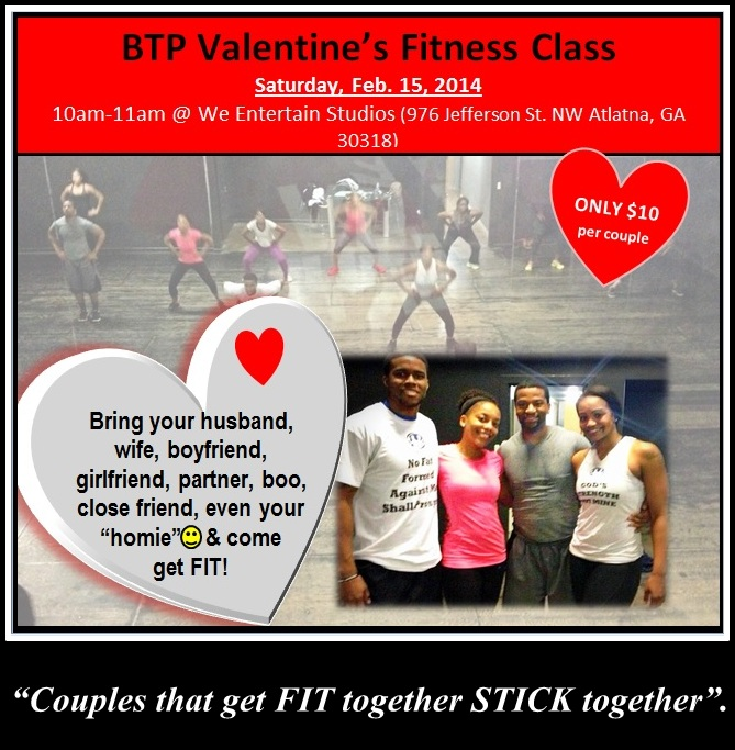 BTP Valentine Fitness Flyer red