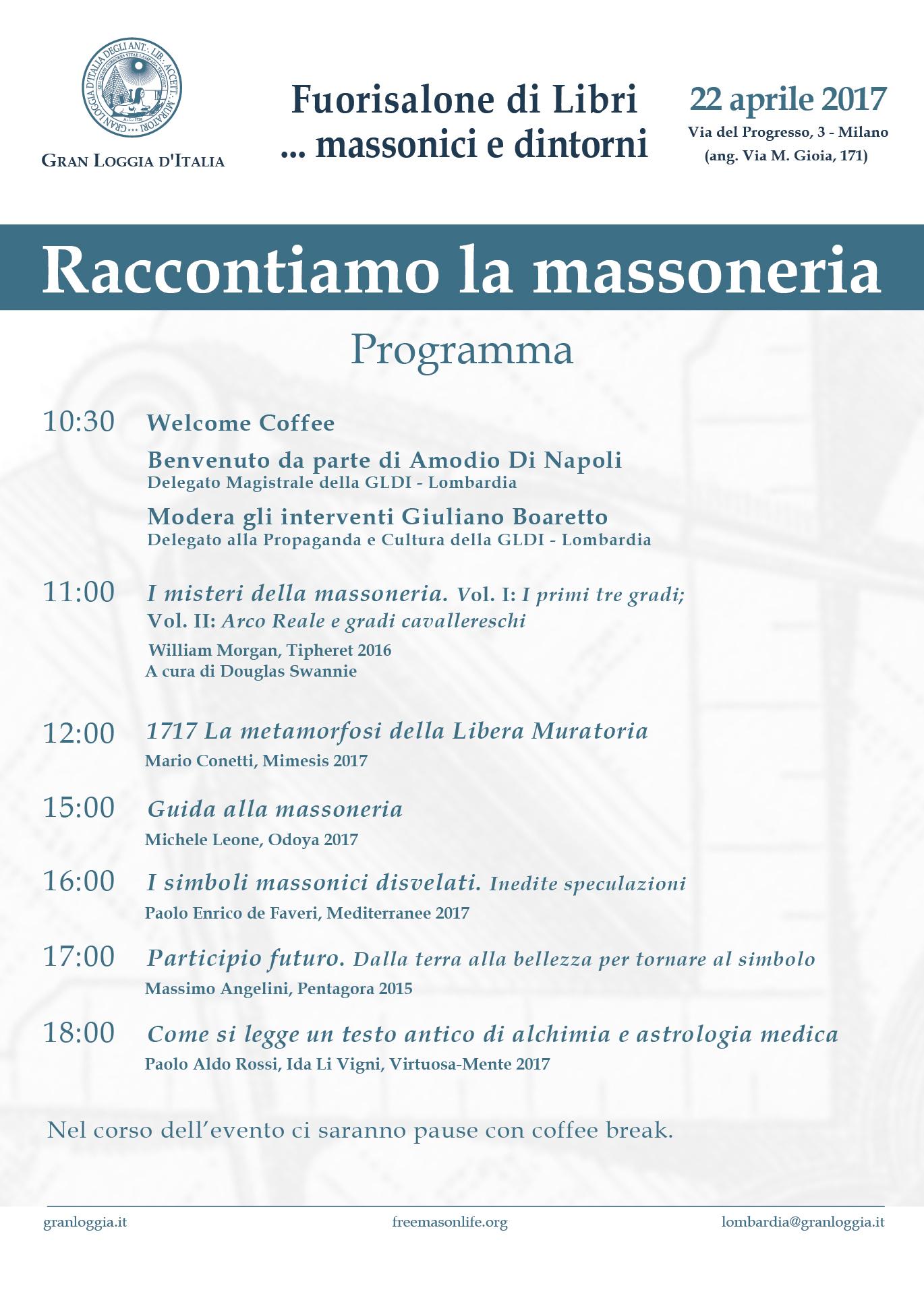 Programma presentazioni