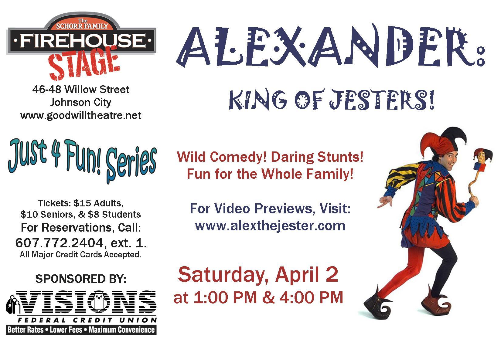 Alexander, King of Jesters!