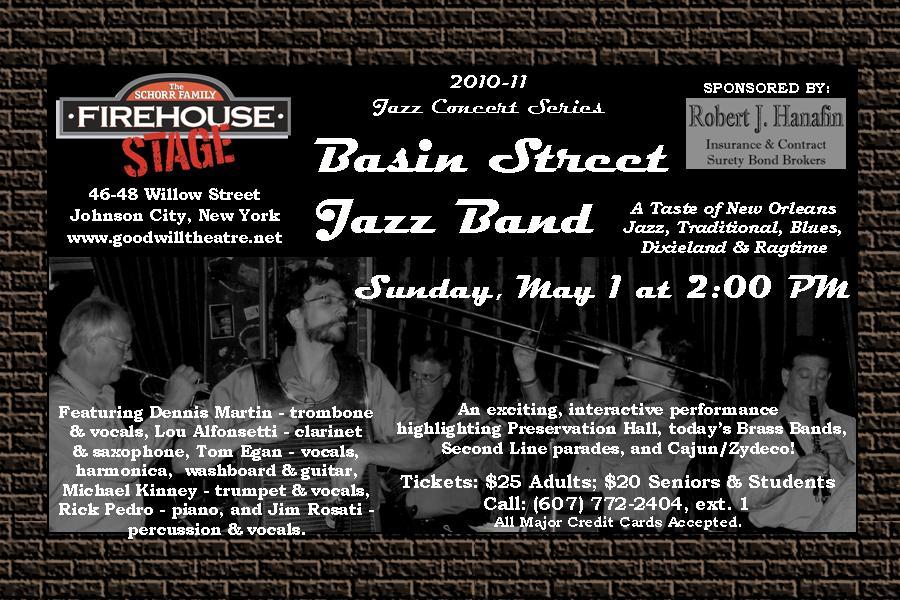 The Basin Street Jazz Band