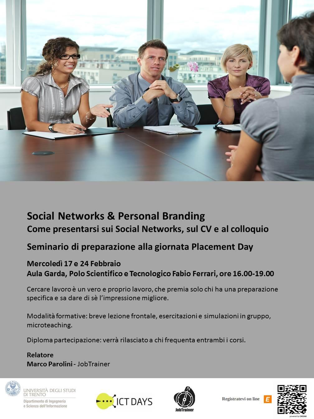 Social Networks &Personal Branding
