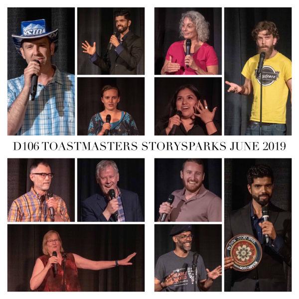 June 2019 StorySparks Collage