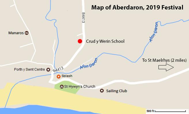 Map of Aberdaron