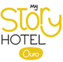 logotipo my story hotel ouro lisbon