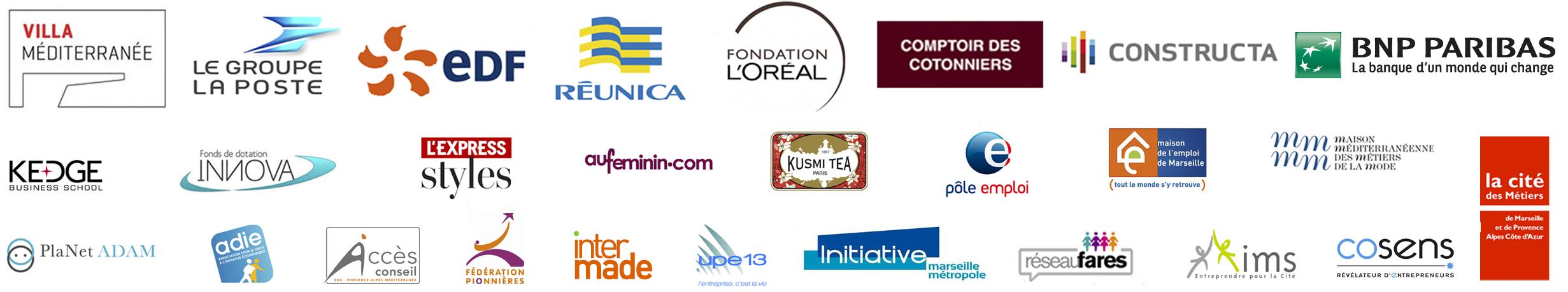 bannière sponsors