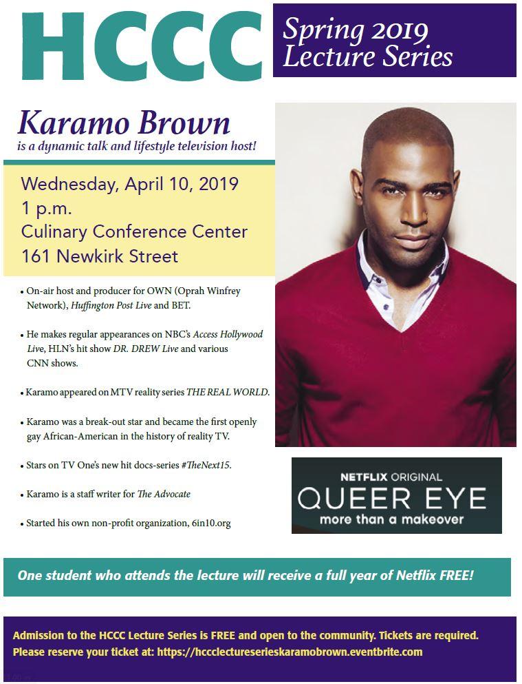 Karamo Brown Lecture Series