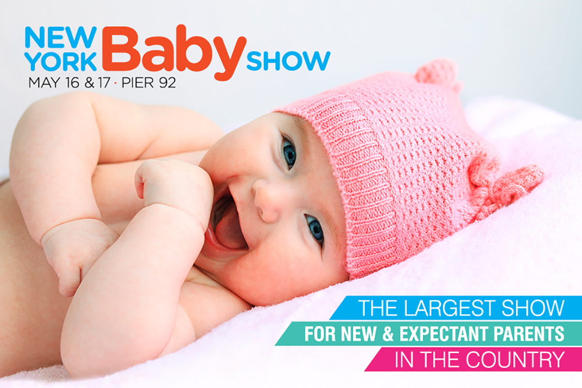 New York Baby Show, May 16 & 17 at Pier 92