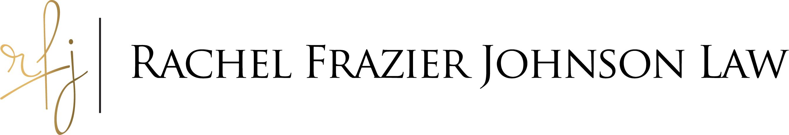 Rachel Frazier Johnson Law Logo