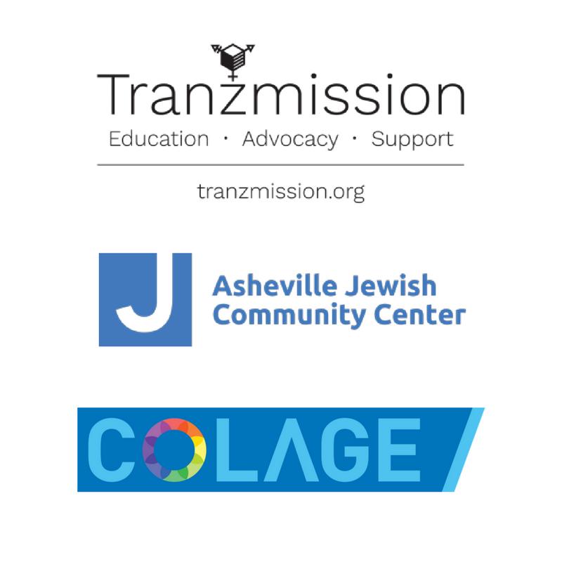 tranzmission, JCC, and COLAGE logo