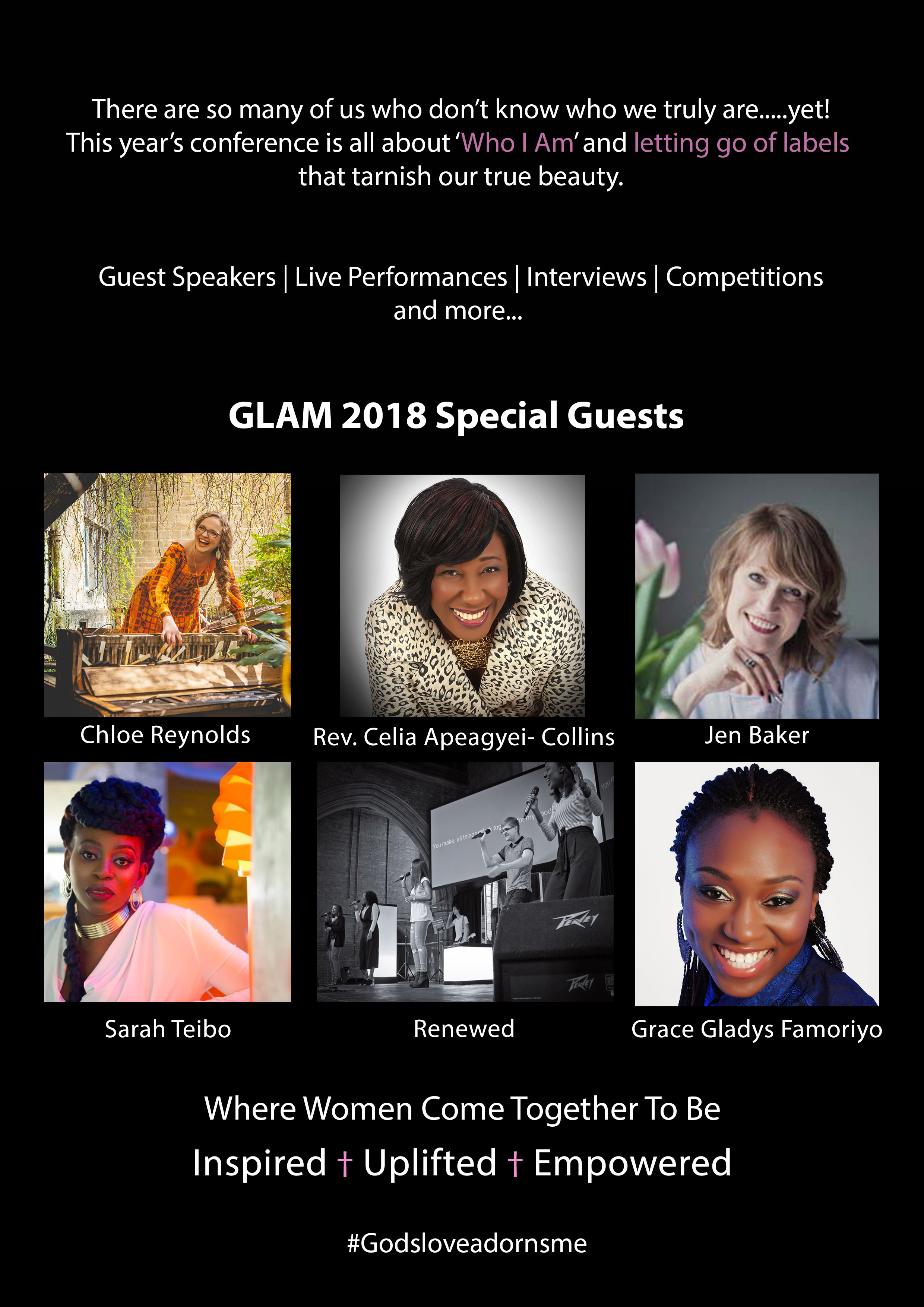 GLAM Conference 2018 Flyer
