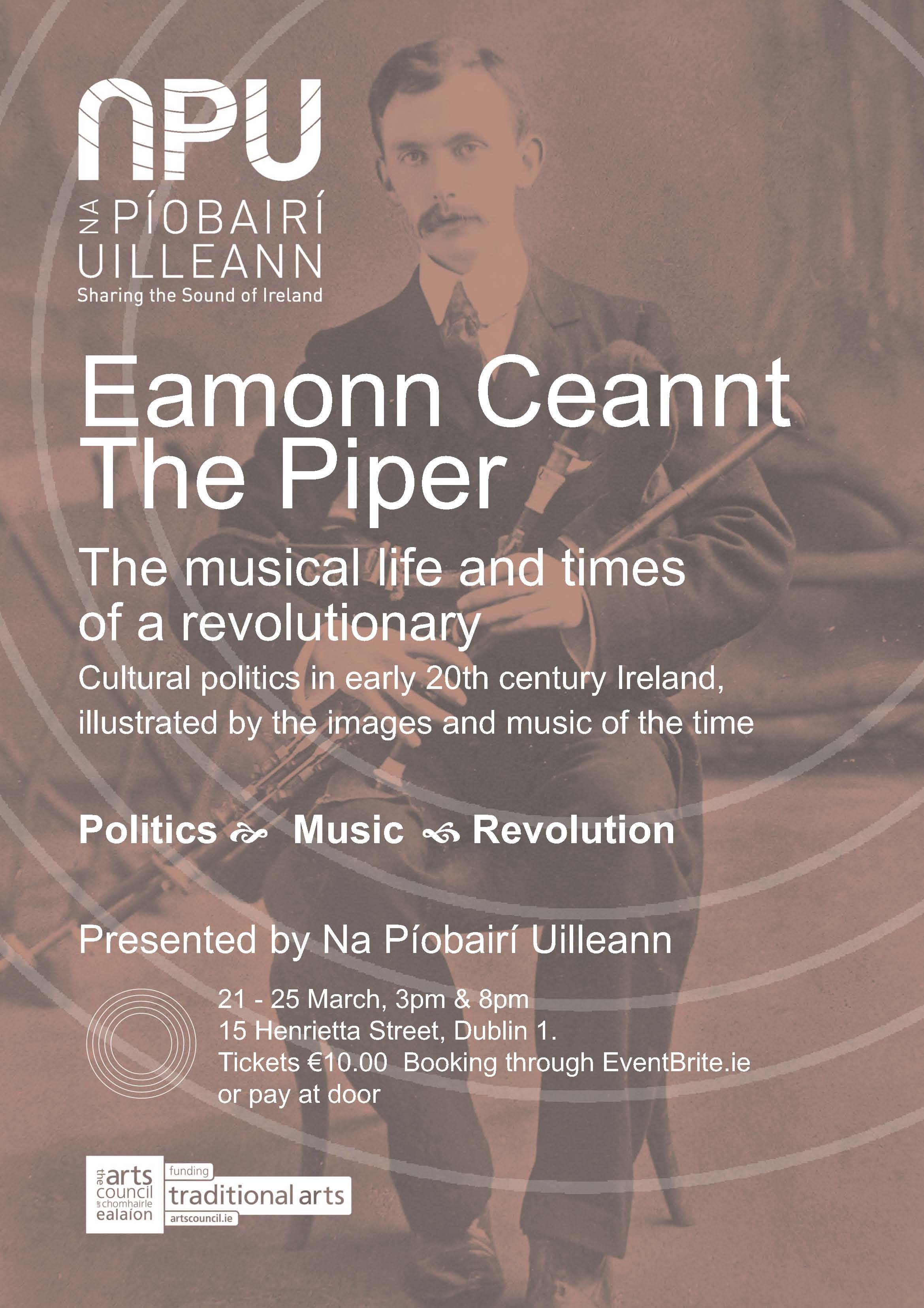 Eamonn Ceannt The Piper Poster