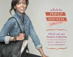 Stella and Dot's Pop-Up Shop Week