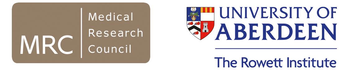 mrc and UoA logos