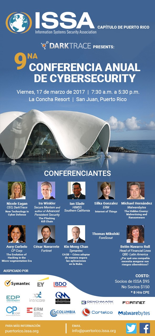 2017 ISSA Puerto Rico Cyber Security Conference