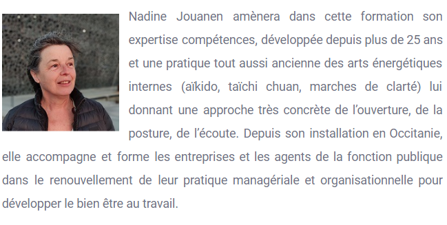 Nadine JOUANEM - Bio